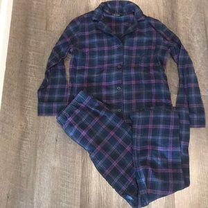 LAUREN by Ralph Lauren flannel Pajama set